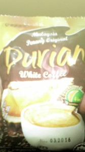 Tampilan Sachet Durian White Coffe
