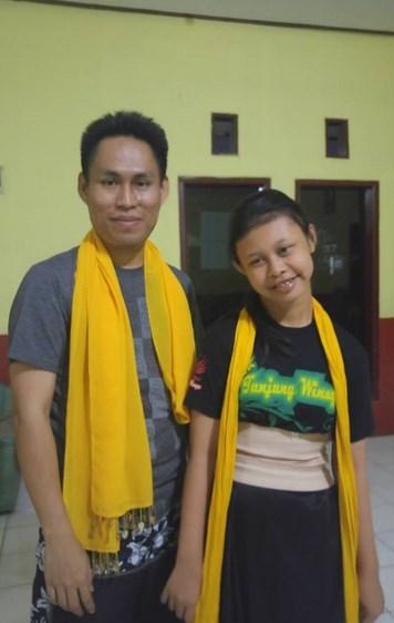 Kang Iwan dan muridnya Tirana