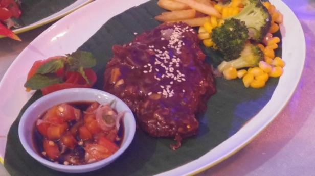 Steak Maranggi buatan salah satu peserta