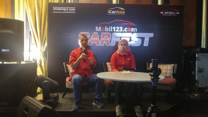 Konferensi Pers Carfest Mobil123