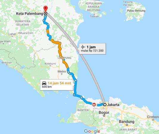 Jakarta Palembang