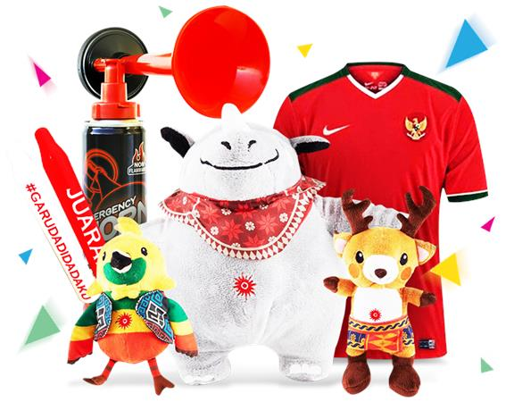 merchandise Asian Games 2018 di Bukalapak