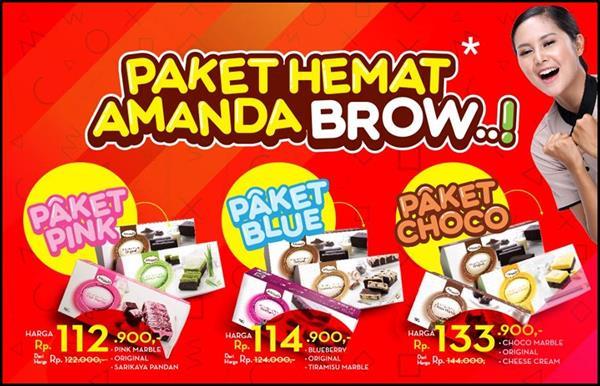Paket Hemat Amanda Brow