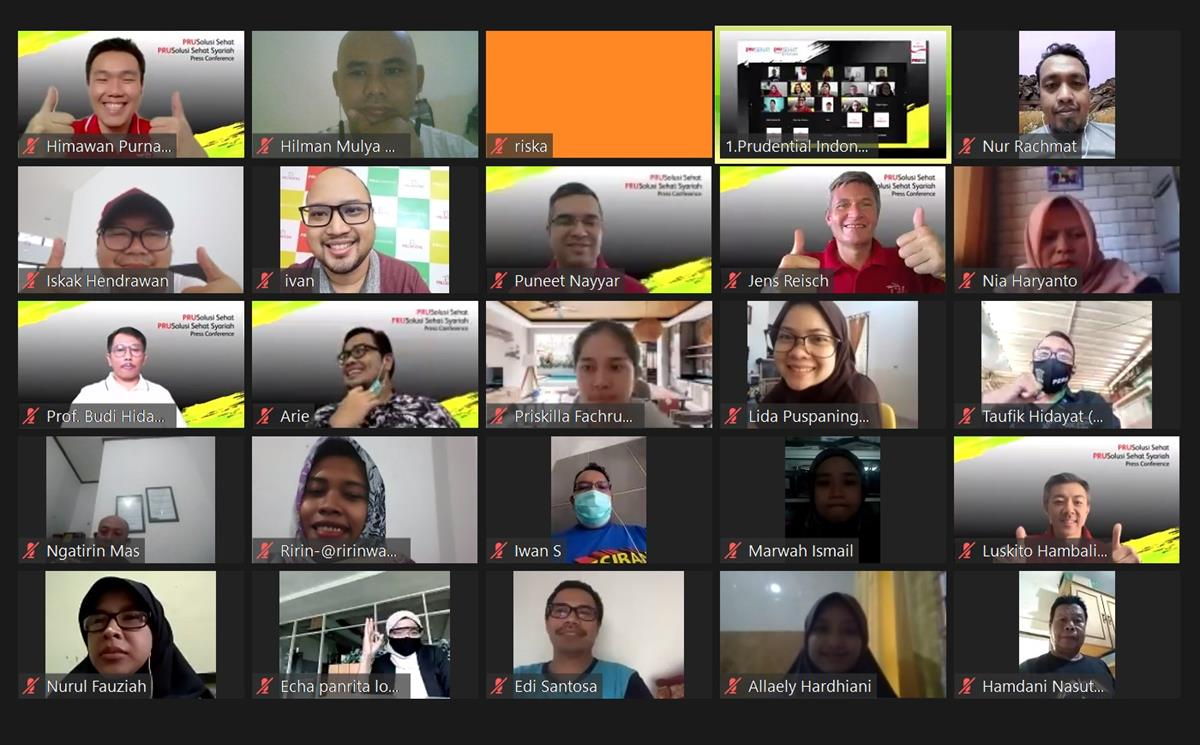 Konferensi Zoom Prudential